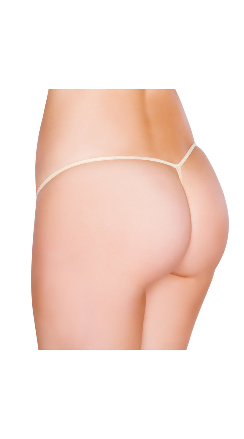 Nude Low Cut G-String Bottom