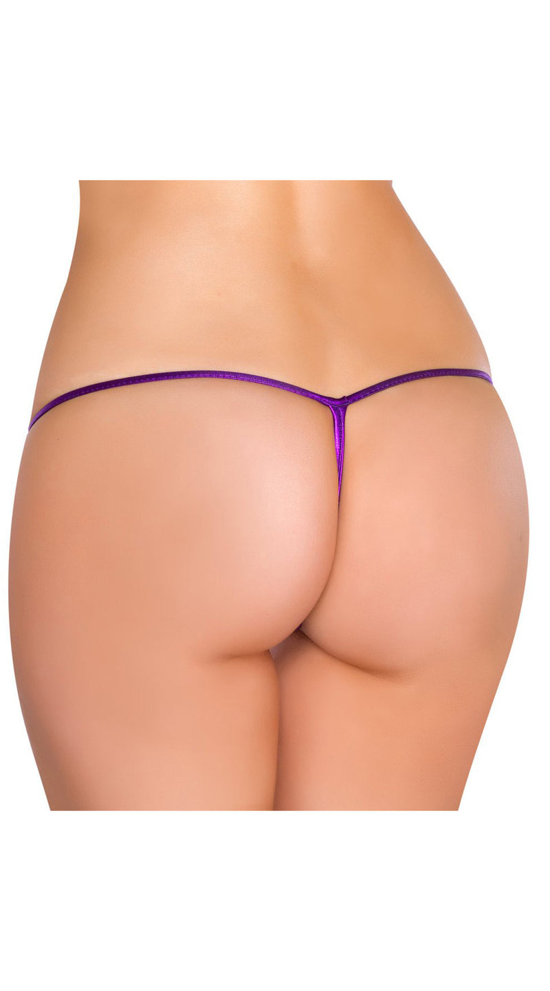 Purple Metallic G-String