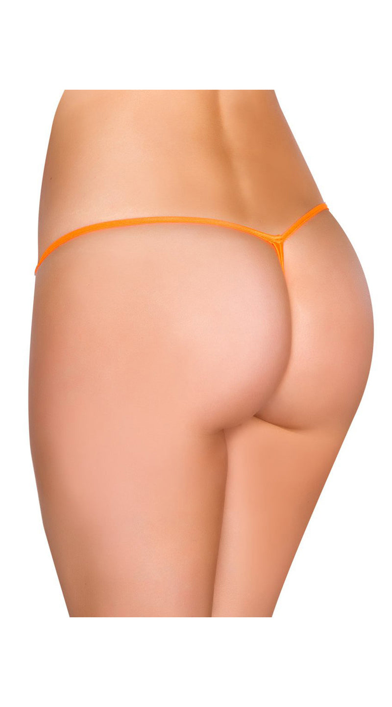Orange G-String Back Bottom