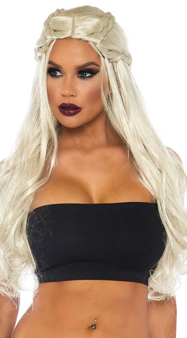 Braided Long Wavy Wig - ElegantStripper