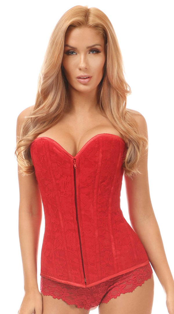 Lace Overbust Corset