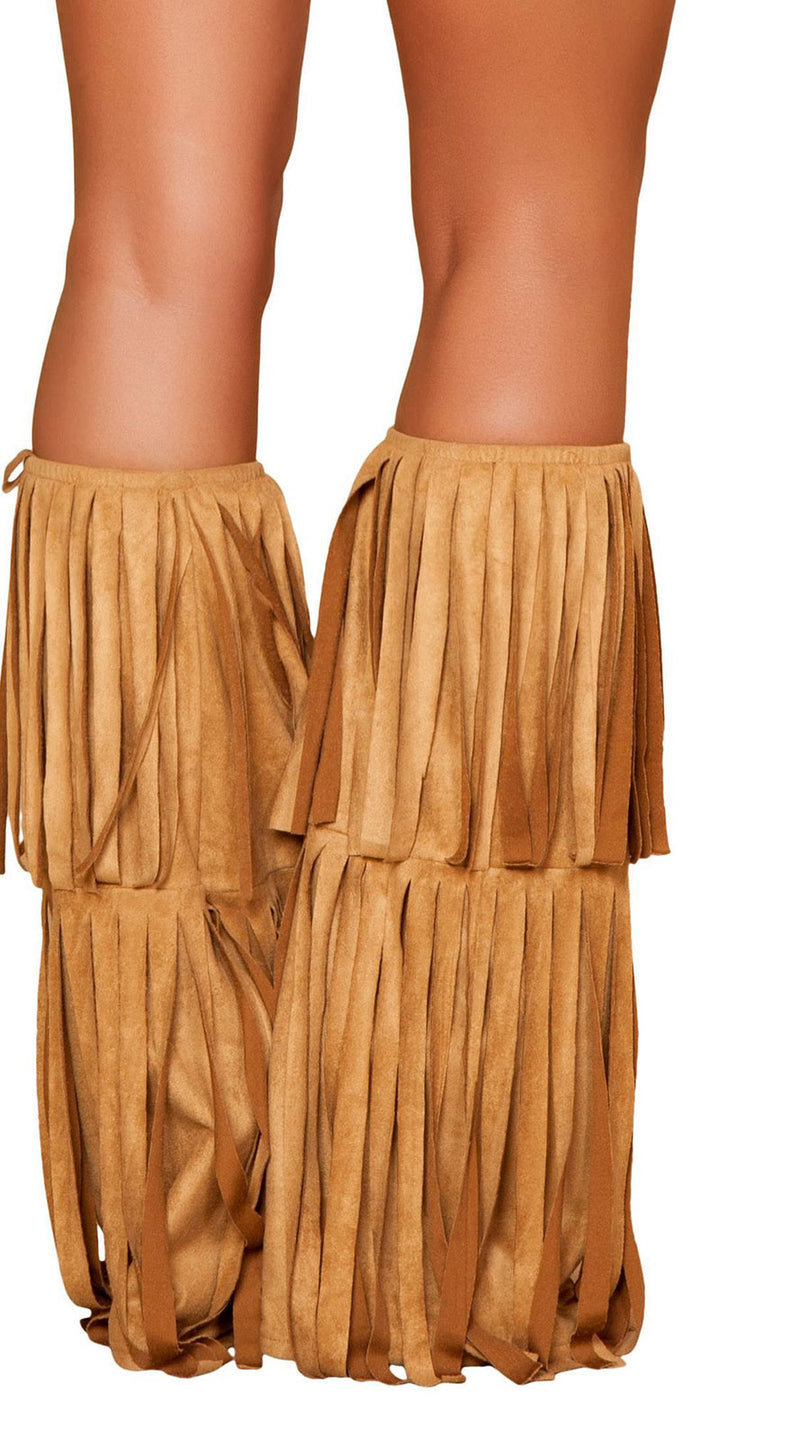 Fringed Leg Warmer