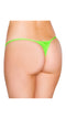 Lime Micro Low Cut Thong