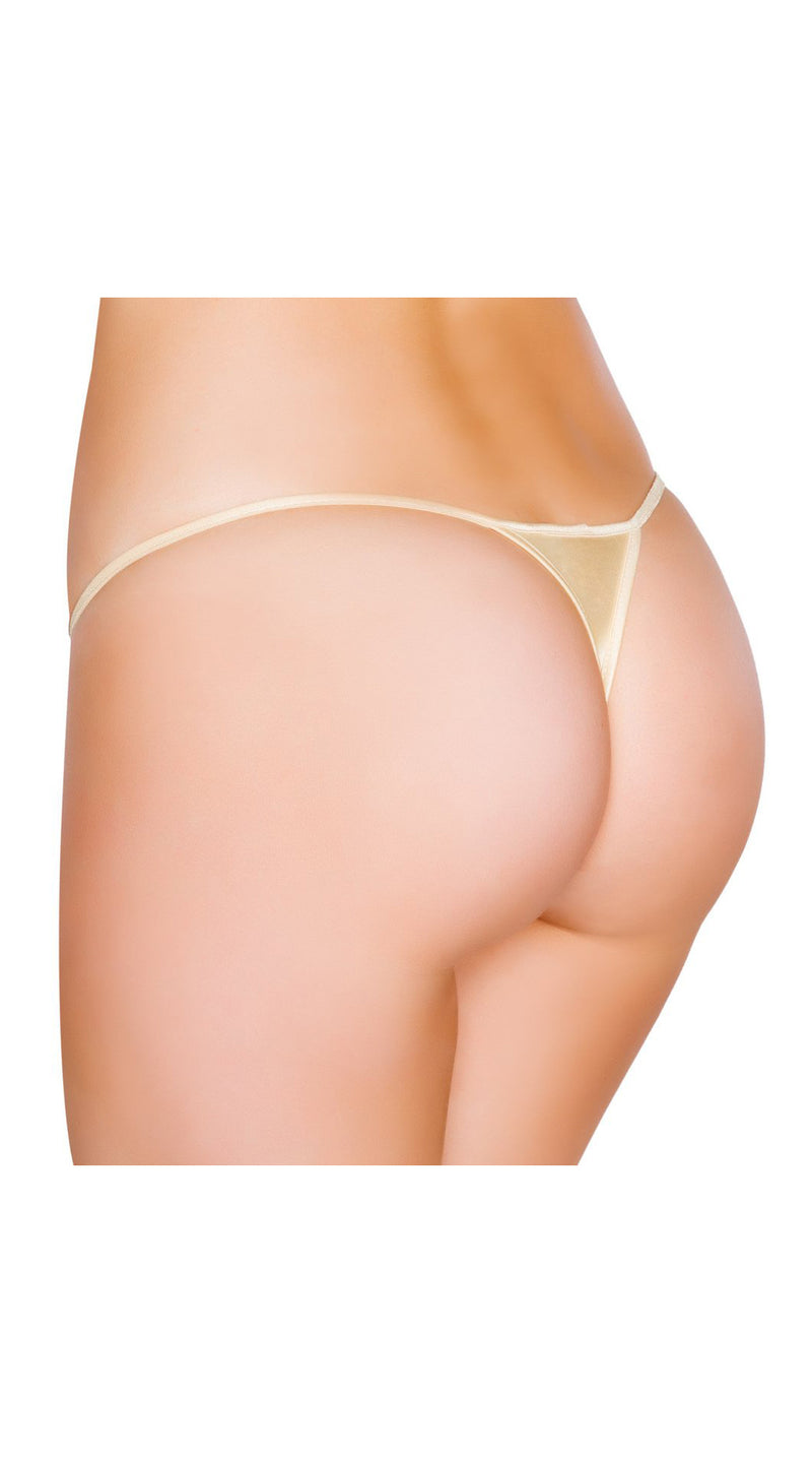 Nude Micro Low Cut Thong