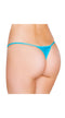 Turquoise Micro Low Cut Thong