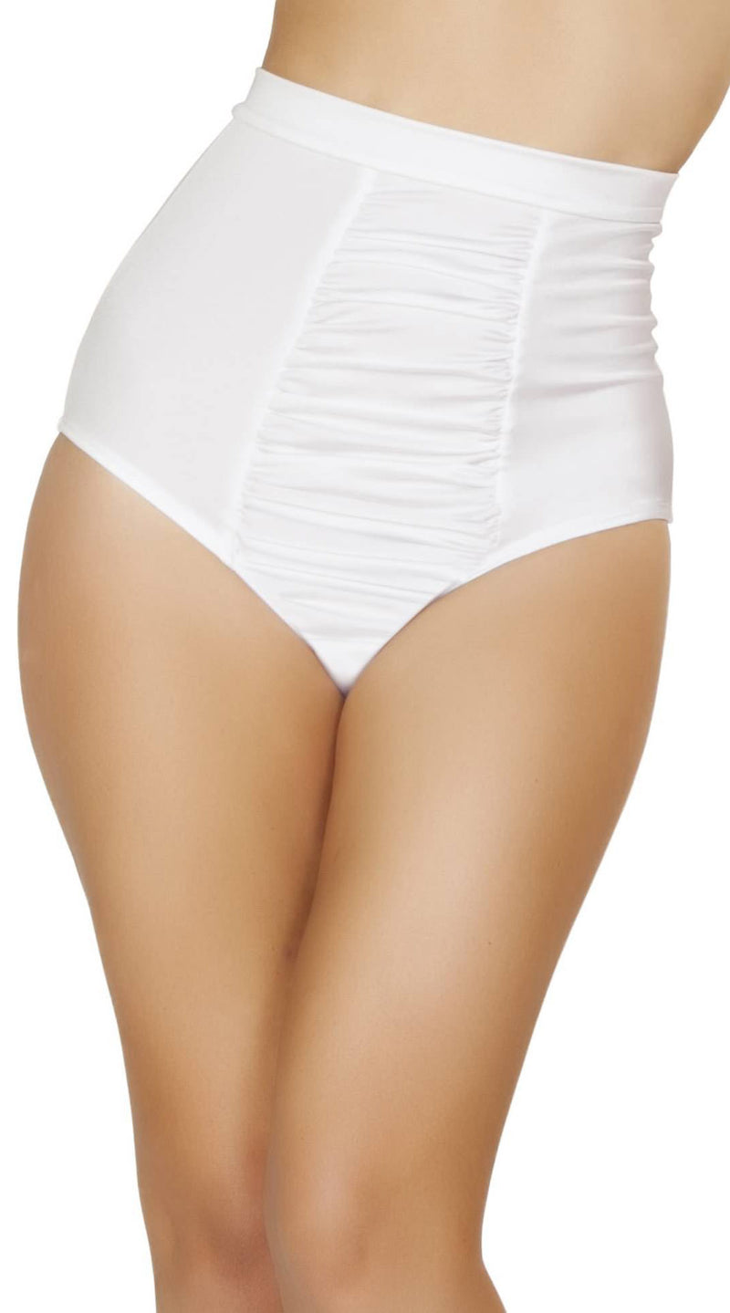 Scrunch Front Shorts with Band