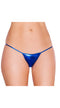 Royal Blue Sexy Metallic Bikini Bottom