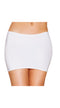 White Lycra Mini Skirt