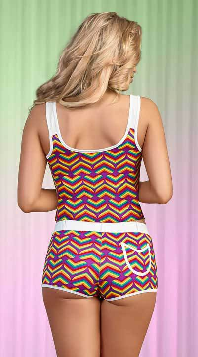 Exposed Pride Tank Top and Short Set