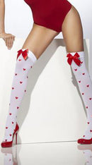 Stockings with Bows and Hearts