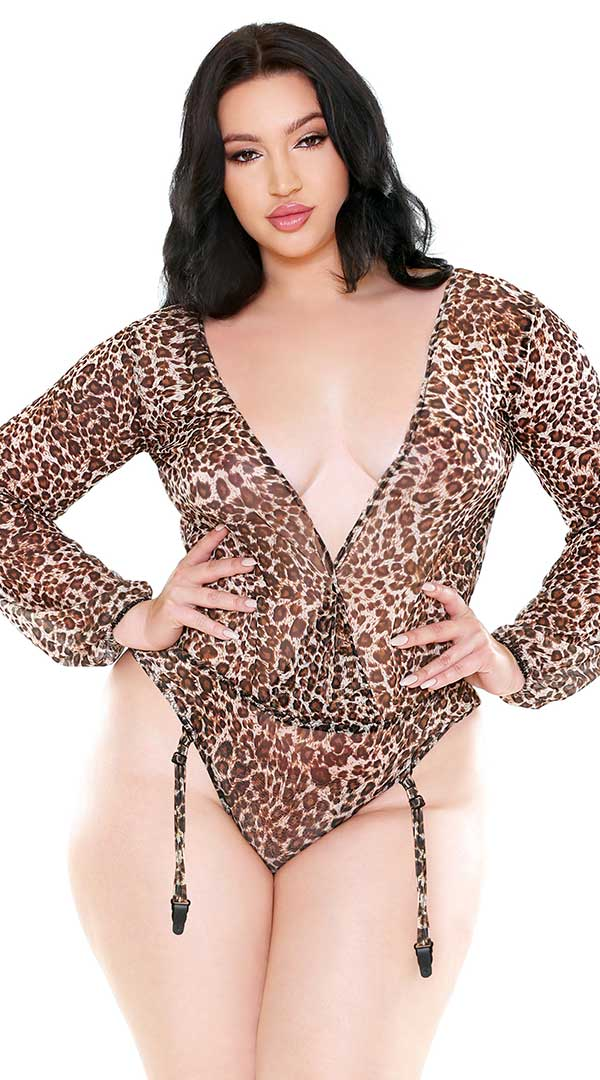 Shiva Long Sleeve Mesh Teddy