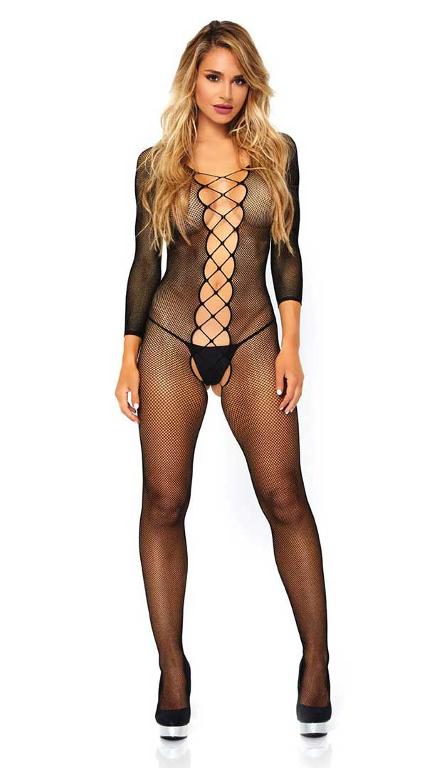 Lattice Net Bodystocking
