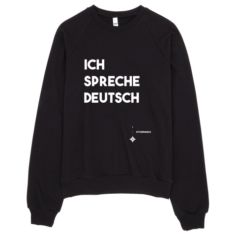 I Speak German Crewneck Sweater