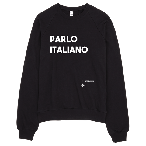 I Speak Italian Crewneck Sweater