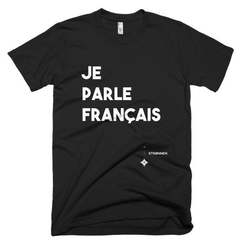 I Speak French Tee