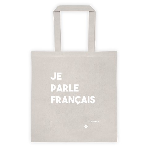 I Speak French Tote Bag