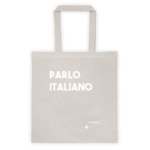 I Speak Italian Tote Bag