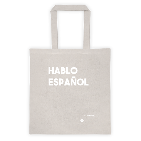 I Speak Spanish Tote Bag
