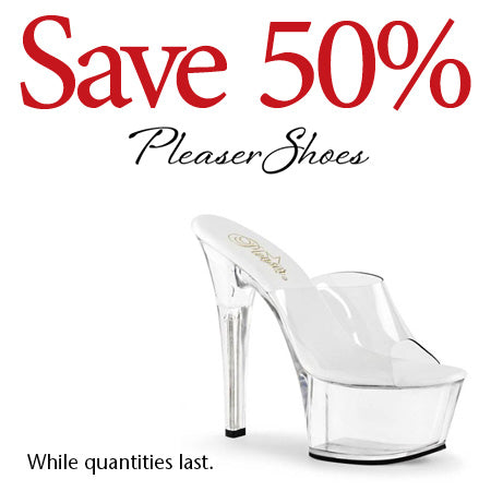 Pleaser Shoes! 50% OFF