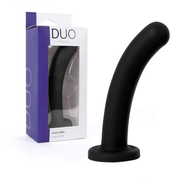 Adore U DUO  Large Dildo  Black
