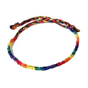 Gay Pride Products Gay Pride Friendship Bracelet - Wicked Wanda's Inc.