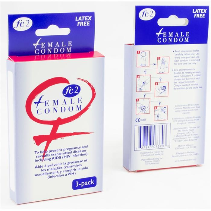 Fe2 Female Condom (Box of 3)