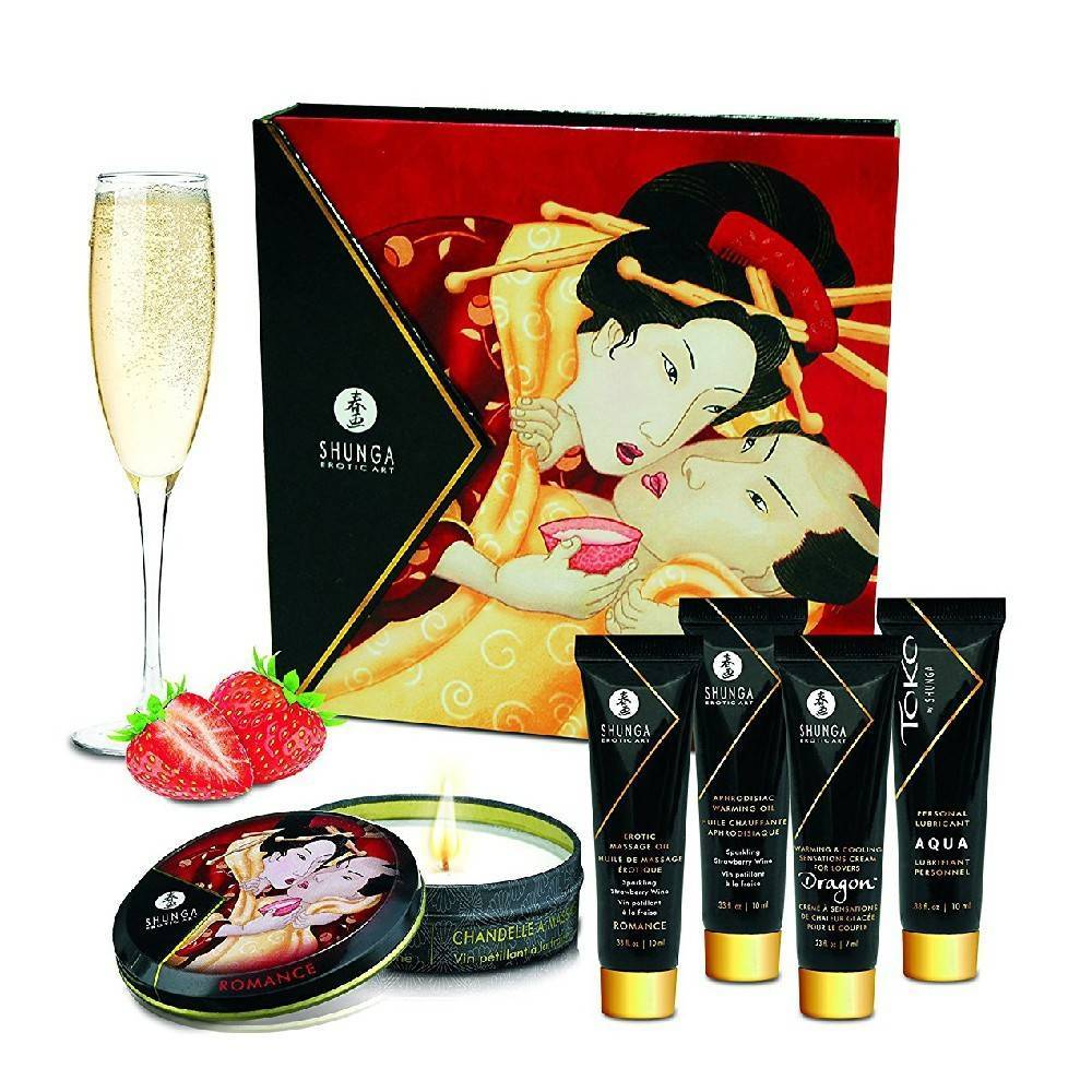 Geisha Secret Collection Strawberry Wine by Shunga