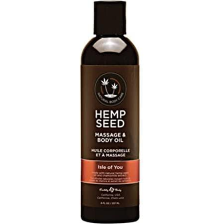 Hemp Seed Isle Of You - Massage Oil - Wicked Wanda's Inc.