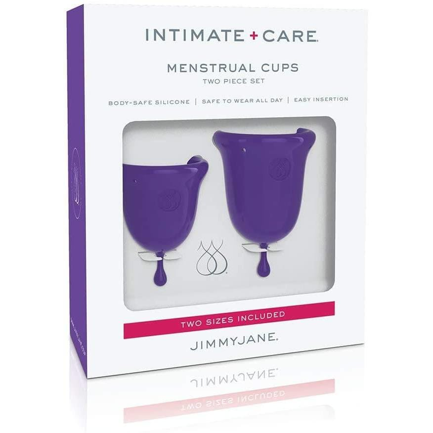 JimmyJane Intimate+Care Menstrual Cups - Wicked Wanda's Inc.
