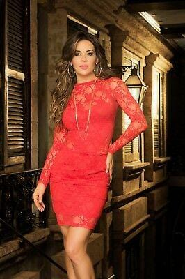 Mapale Red Dress