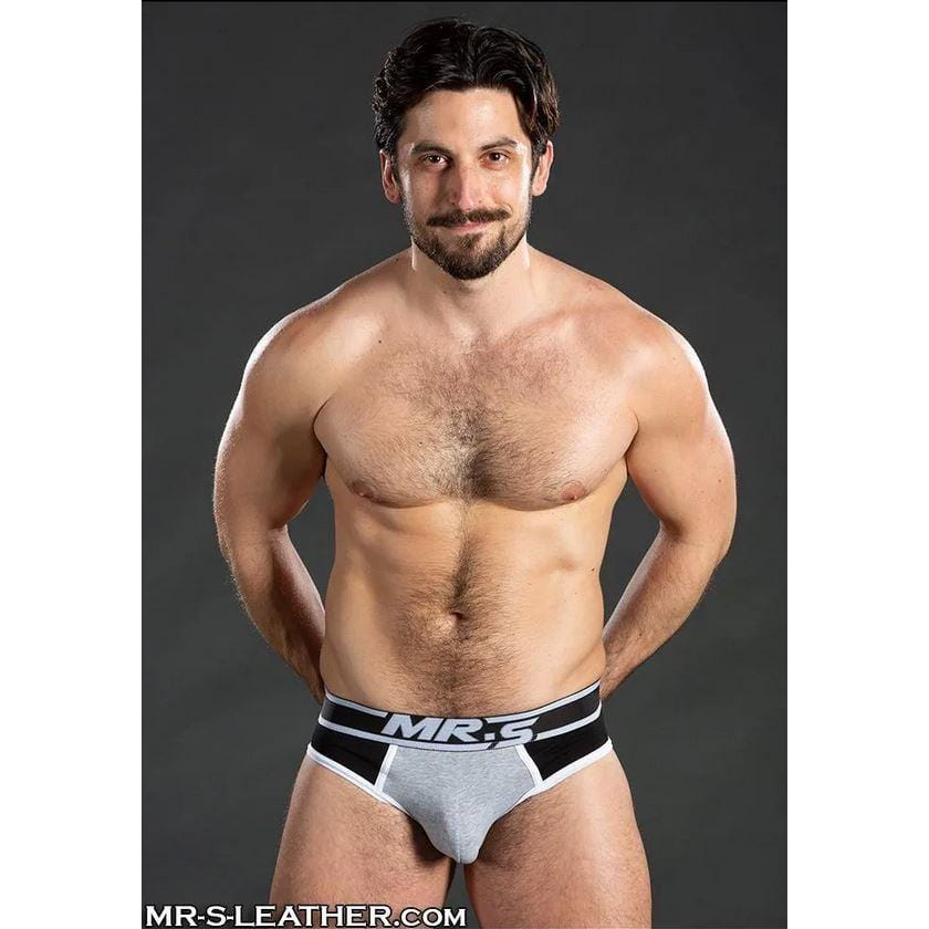 Mr S. Leather Essential Jock Brief - Wicked Wanda's Inc.
