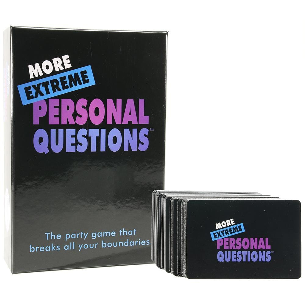 Kheper Game More Extreme Personal Questions Party Game
