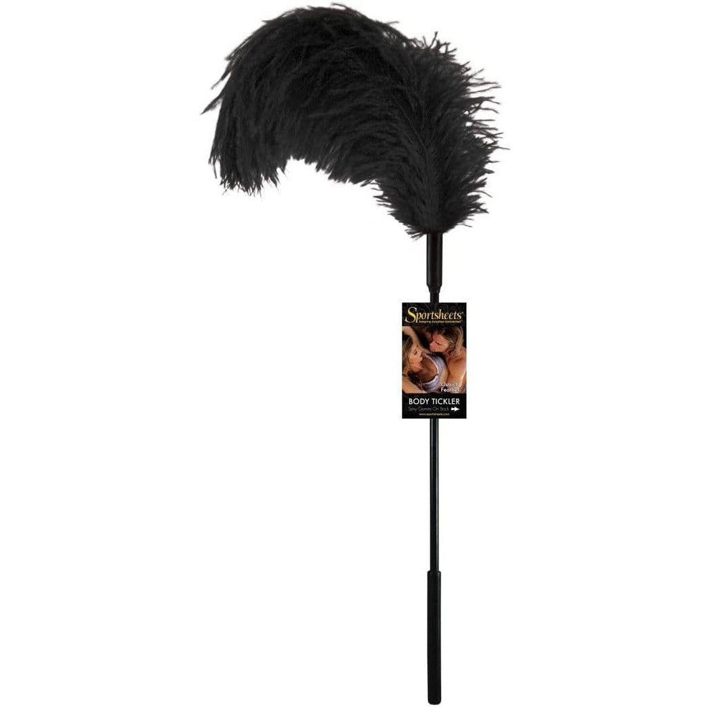 Sportsheets Ostrich Feather Tickler - Wicked Wanda's Inc.