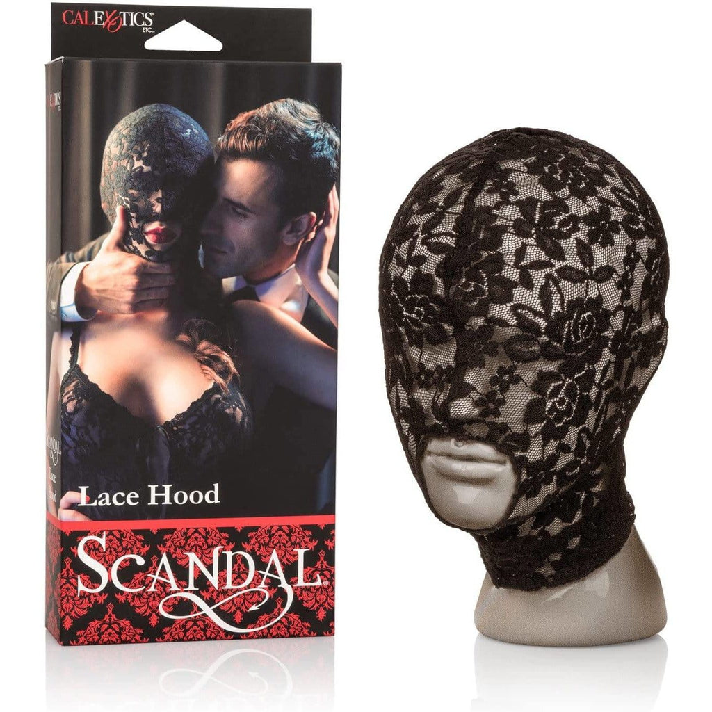 Scandal Lace Hood - Wicked Wanda's Inc.