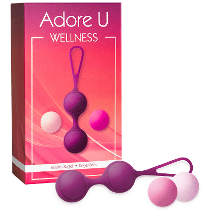 Adore U Wellness Kegel Balls - Wicked Wandas Adult Emporium Inc.