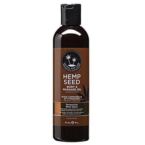 Hemp Seed Dreamsicle Massage Oil - Wicked Wanda's Inc.
