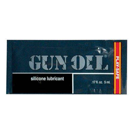 GUN OIL SILICONE LUBE SAMPLE - Wicked Wanda's Inc.