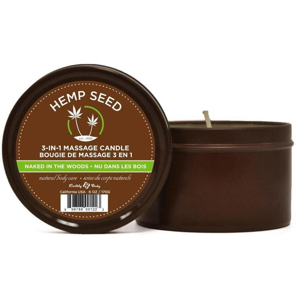 Hempseed 3-in-1 Massage Candle - Wicked Wanda's Inc.