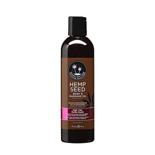 Hemp Seed High Tide Massage Oil - Wicked Wanda's Inc.