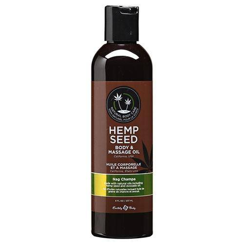 Hemp Seed Nag Champa Massage Oil - Wicked Wanda's Inc.