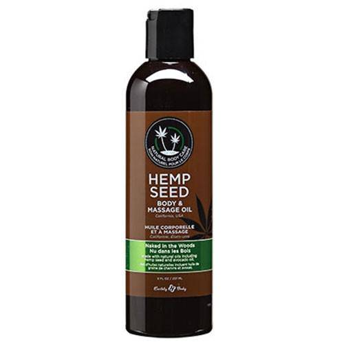 Hemp Seed Naked in the Woods Massage Oil - Wicked Wanda's Inc.