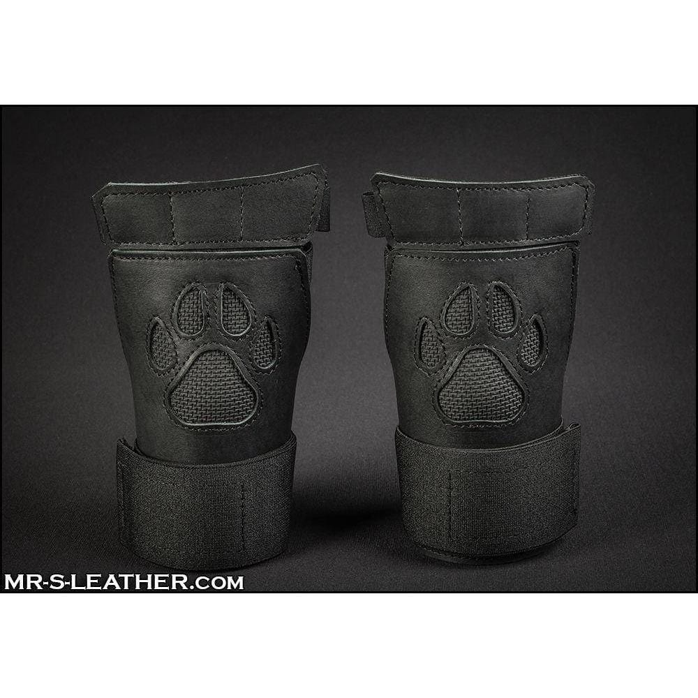 Mr. S Leather Black Open Paw Puppy Glove - Wicked Wanda's Inc.