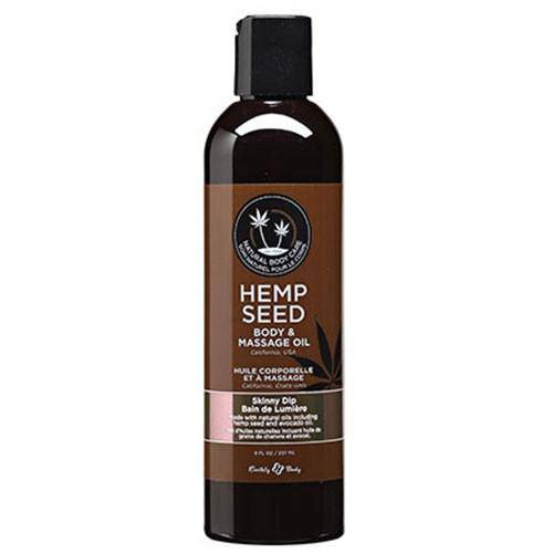 Hemp Seed Massage Oil - Skinny Dip - Wicked Wanda's Inc.