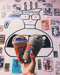 Rad Coffee Interior with Milo Descendents Wall Art