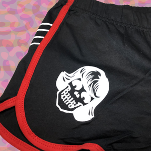 Rad Coffee - Red Skeleton Shorts