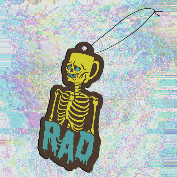 Rad Coffee - Air Freshener - Coffee Head