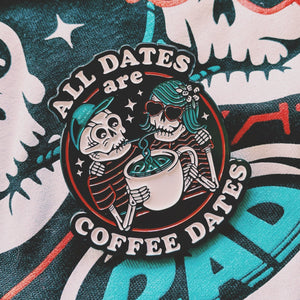 Rad Coffee - Pins- Valentine's Day Coffee Dates Lapel Pin