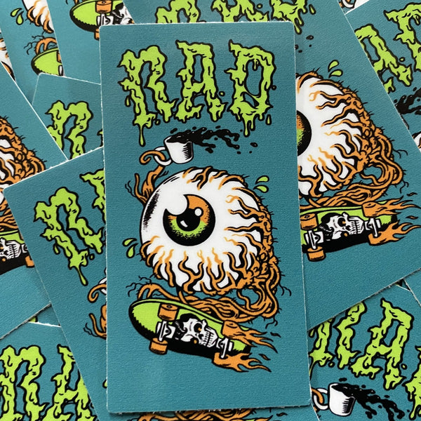 Rad Coffee - Skate or Eye Sticker