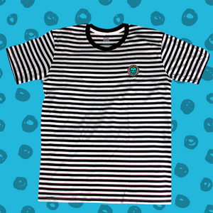 Rad Coffee - Patch & Stripe Unisex Tee