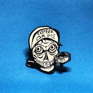 Rad Coffee - Coffee or Die Lapel Pin